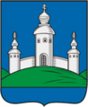 Coat of Arms of Voskresensky rayon (Saratov oblast).png