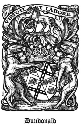 The Scots Peerage - Image: Coat of Arms of the Earl of Dundonald