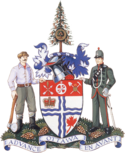 Coat of arms of Ottawa, Ontario.