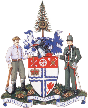 Ottawa City Council - Image: Coat of arms of Ottawa, Ontario