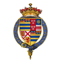 Coat of arms of Sir Thomas Manners, 1st Earl of Rutland, KG.png