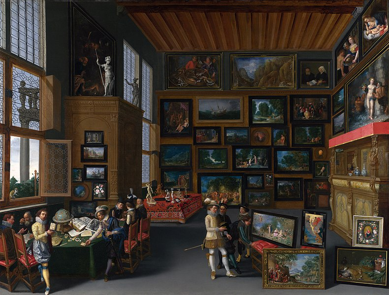 File:Cognoscenti in a Room hung with Pictures - c. 1620.jpg