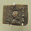 Coin - Copper - Circa 156-140 BCE - Heliokles Reign - ACCN ASB 6 - Indian Museum - Kolkata 2014-04-04 4285.JPG