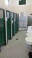 Colegio Nacional de Buenos Aires - 2015 04 21 baños recién limpiados por los chicos después de la toma.jpg