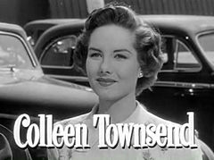 Colleen Townsend in When Willie Comes Marching Home trailer.jpg