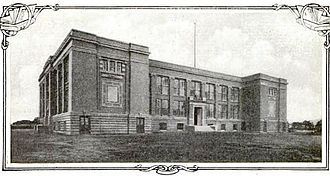 Collinwood school fire - The fire safe building erected after the deadly fire 1911