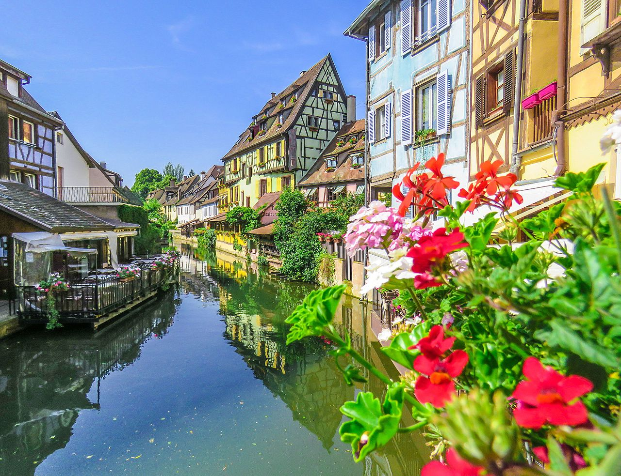 The little Venice, Colmar