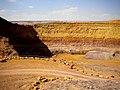 Colors of the rocks in Machtesh Ramon.jpg
