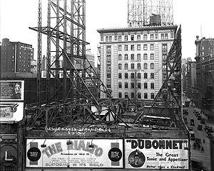 Columbia Amusement Company - Columbia Amusement Co. Building, Manhattan, in 1917