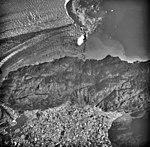 Columbia Glacier, Terentiev Lake, Calving Terminus, August 25, 1969 (GLACIERS 1023).jpg