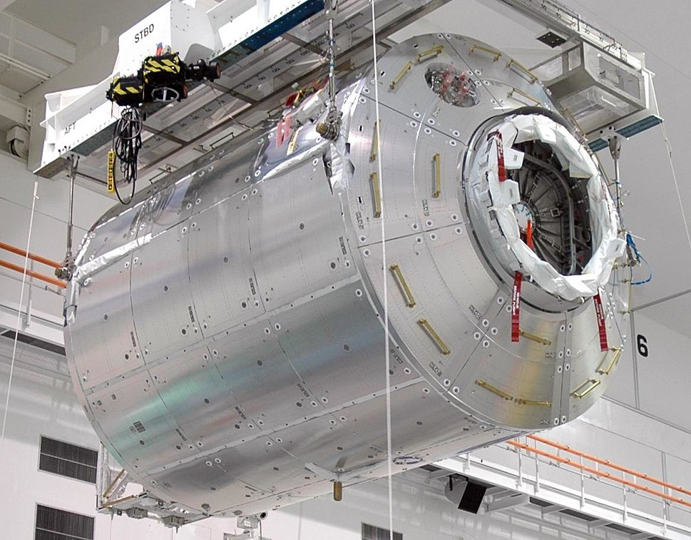 Columbus module delivered to KSC