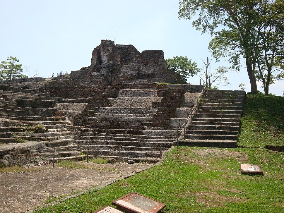 Comalcalco.Templo IV