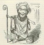 Comic History of Rome p 212 Light Comedy Man of the Period.jpg