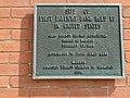 Commemorative Plaque - Alleged Jesse James Bank Robbery - Liberty - Missouri - USA (41941656322).jpg