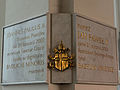 Commemorative plaque of Holy Cross church in Warsaw - 03.jpg