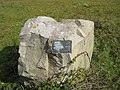 Commemorative stone, Hayle Estuary Reserve - geograph.org.uk - 783232.jpg