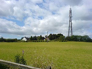 Mansfield 103.2 FM - Shared transmitter at Fishpond Hill