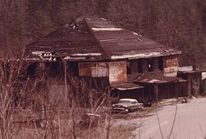 Wilder, Tennessee - Image: Company Store Wilder Tennessee 1974
