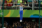 Competitions in gymnastics at the Olympics 2016. Discipline - rings. 01.jpg