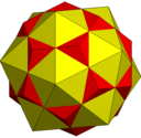 Compound of dodecahedron and icosahedron