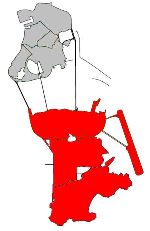 Civic and Municipal Affairs Bureau - Image: Concelho das Ilhas