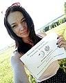 Congratulation of Erzyan Wikipedia with 10th anniversary from Samara region.jpg