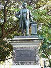 Statue of Thomas Sutcliffe Mort by Pierce Connolly
