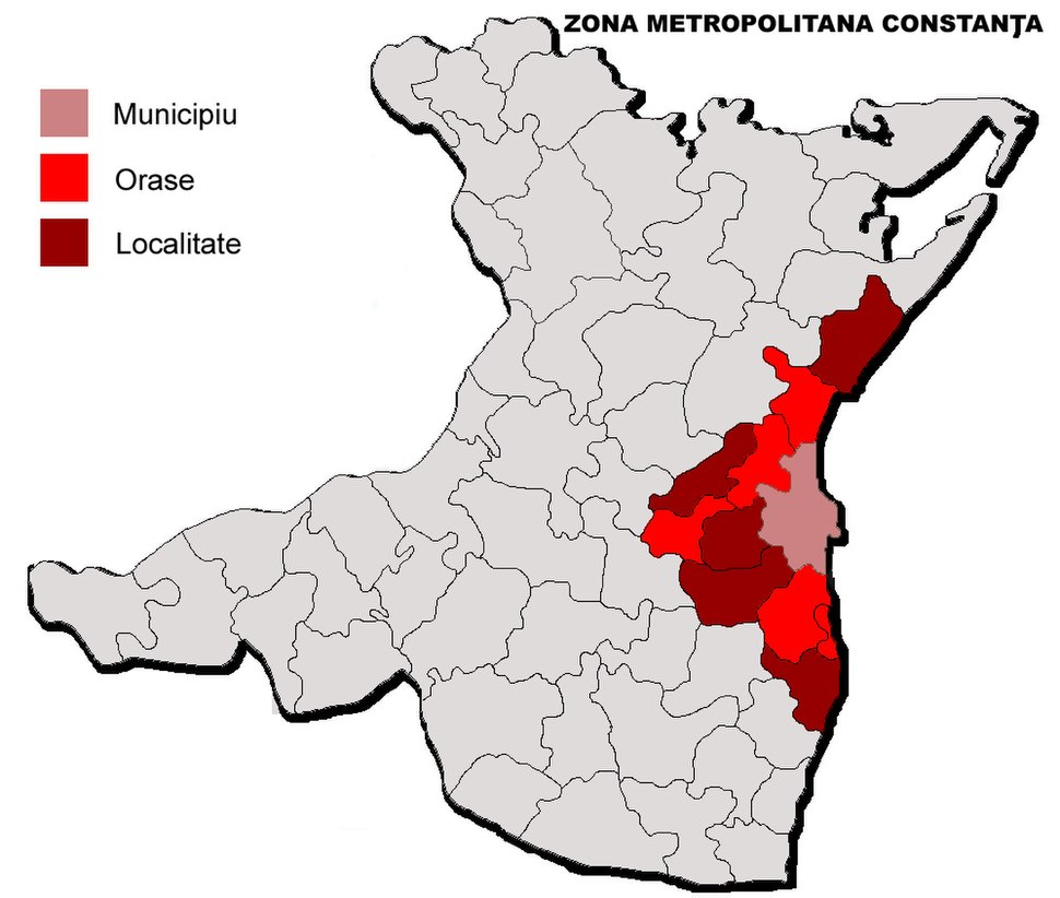 Constanta Metropolitan Area jud Constanta