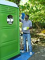 Converting porta-potties into SOIL's EcoSan EkoMobil mobile toilets. (15897583236).jpg