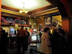 Coolidge Corner Theatre - Image: Coolidge Corner Theatre Lobby 2010