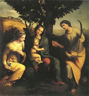 lost painting by Correggio
