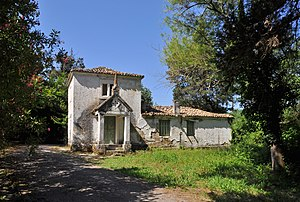 Mon Repos, Corfu - Small building at the park