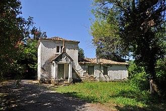 Mon Repos, Corfu - Small building at the park