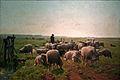 Cornelis Van Leemputten - Landschap met herder en kudde schapen.JPG