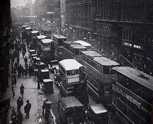 Corporation Street, Birmingham - Corporation Street in 1931.