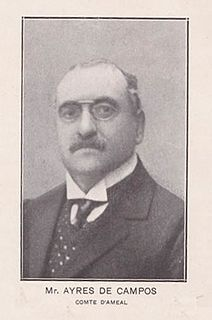 João Maria Correia Ayres de Campos, 1st Count of Ameal Portuguese politician and antiquarian