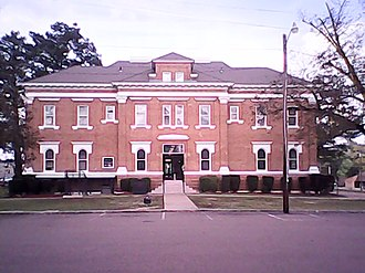 Collins, Mississippi - Covington County Courthouse in Collins