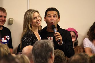 Chloë Annett - Annett and Craig Charles, who plays Dave Lister from Red Dwarf