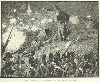Robert Craufurd - Craufurd at Ciudad Rodrigo (from a British book)