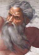 Dios según Miguel Angel
