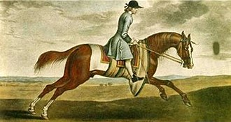 Byerley Turk - Partner, grandson of the Byerley Turk, grandsire of Herod