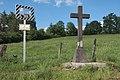 Croix à Saint-Jean-Bonnefonds en mémoire du champ d'honneur.jpg