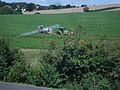 Crop spraying behind the Retail Park - geograph.org.uk - 525551.jpg