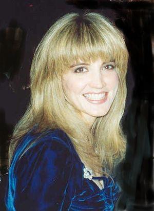 Crystal Bernard - Bernard at the 1991 Emmy Awards