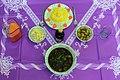 Cuisine of Iran آشپزی ایرانی 27- قرمه سبزی با پلو.jpg
