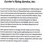 Currier's Flying Service, Inc., Moosehead Lake, Maine.jpg