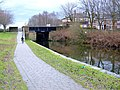 Cycling along the towpath - geograph.org.uk - 1116182.jpg