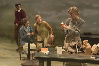 Tisch School of the Arts - Undergraduate students perform in a main stage production of Dancing at Lughnasa.
