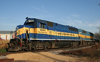 Dakota, Minnesota and Eastern Railroad - DME 4004 and 4000 at Davis Junction, Illinois