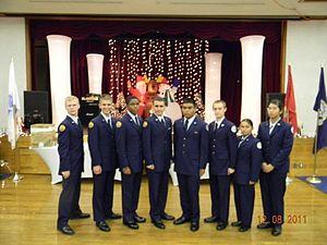 Kadena High School - JA-932 at Marksmanship Far East Sasebo, Japan.